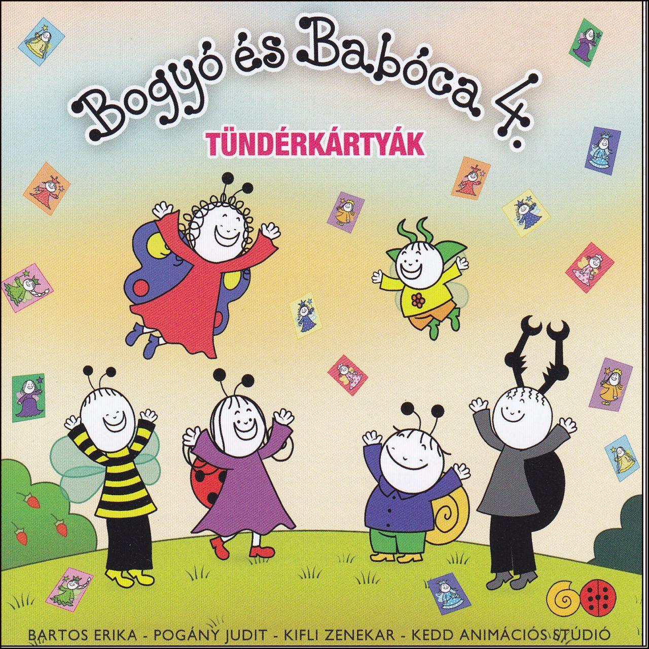 Bogyó és Babóca 4. Tündérkártyák (CD)