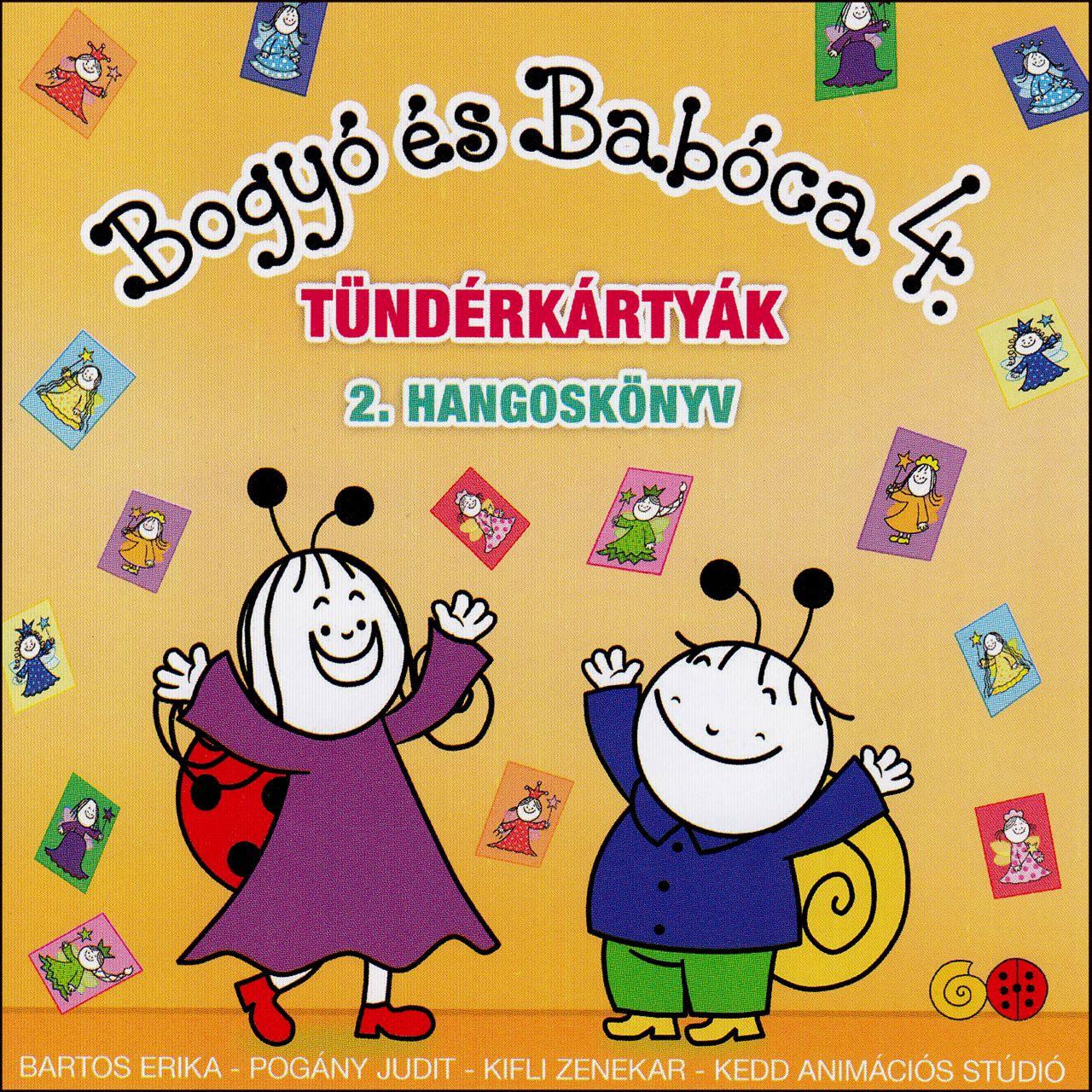 Bogyó és Babóca 4. Tündérkártyák: 2. Hangoskönyv (CD)