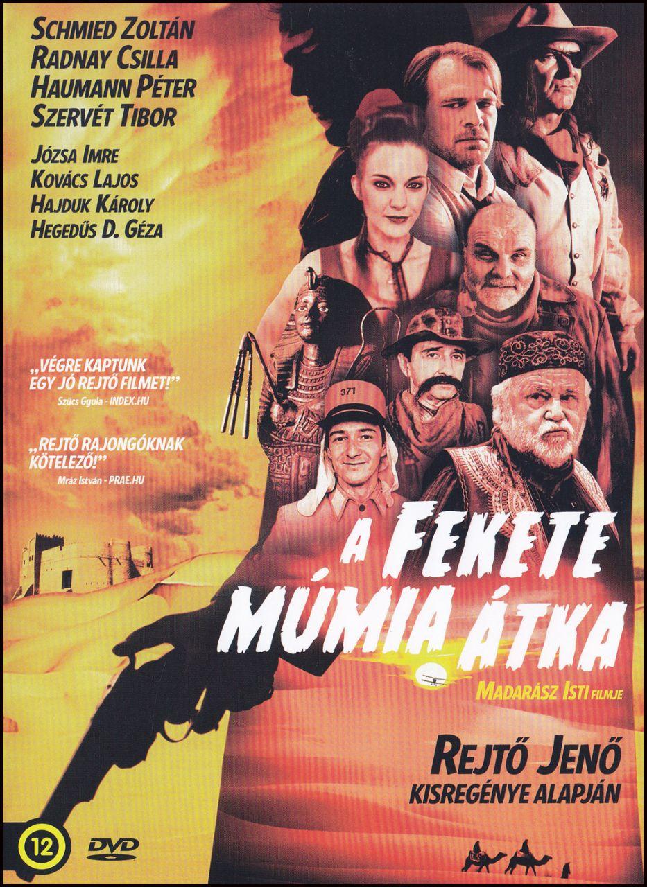 A fekete múmia átka (DVD)
