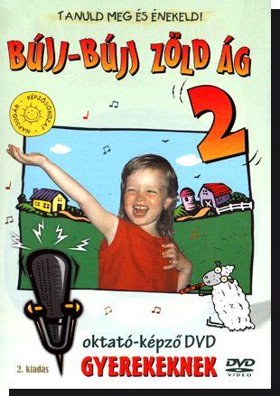 Bújj-bújj zöld ág 2.: Oktató-képző DVD gyerekenek (DVD)