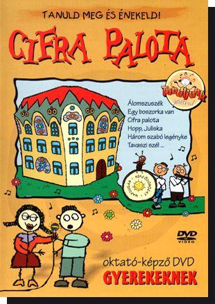 CIFRA PALOTA oktató-képző DVD gyerekeknek (DVD)