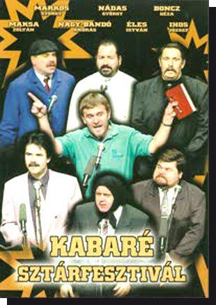 Kabaré Sztárfesztivál (DVD)