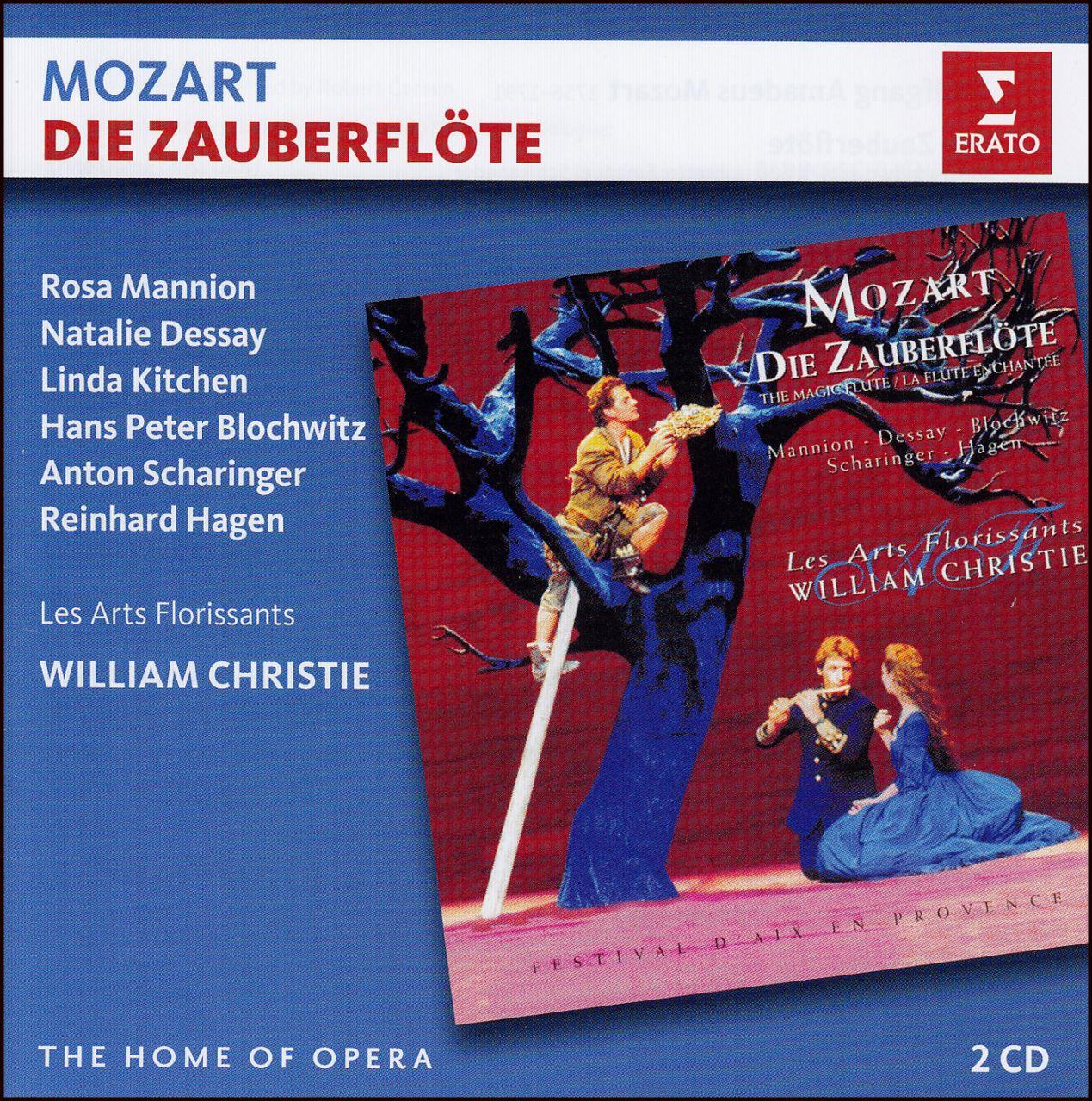 Mozart: Varázsfuvola (2 CD)