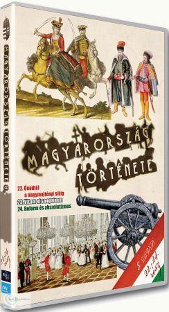 Magyarország története 08. (22-24.) (DVD)