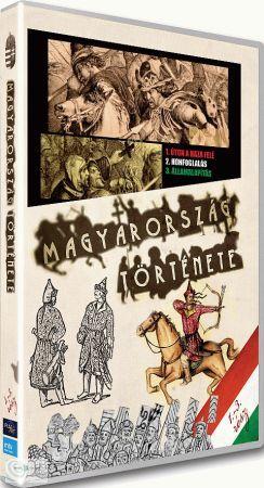 Magyarország története 01. (1-3.) (DVD)