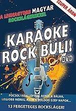 Karaoke rock buli! Magyar rockslágerekkel (DVD)